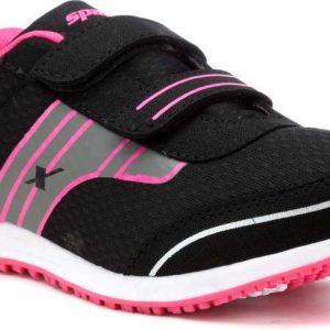 Sparx 92 Running Shoes For Women (Black, Pink)